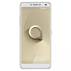 Alcatel 3V Smartphone Portable débloqué 4G (Ecran: 6 Pouces - 16 Go - Nano-SIM - Android) Or de la marque Alcatel image 0 produit