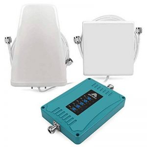 ANYCALL Amplificateurs de Signal 5-Bande, Booster de 2G 3G 4G GSM LTE, 800/900/1800/2100/2600MHz Support Plusieurs Opérateurs de Téléphonie Mobile Simultanément, Antenne logarithmique et Murale de la marque ANYCALL image 0 produit