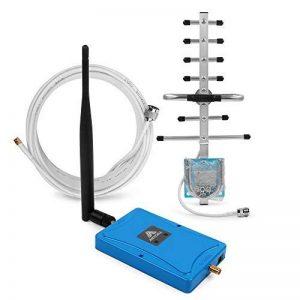ANYCALL Dual Bande Booster 2G 3G 4G 900/1800MHz, LTE GSM Amplificateur de Signal Mobile, 70dB Répéteur Kit avec Antenne Yagi et Whip pour Maison Bureau de la marque ANYCALL image 0 produit