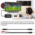 Artbest USB Bluetooth Émetteur, Adaptateur Musique Stéréo Sans Fil Dongle Audio Pour Les Appareils for TV Casque, Pc, Ordinateur, Ipod, Lecteur Multimédia de la marque Artbest image 2 produit