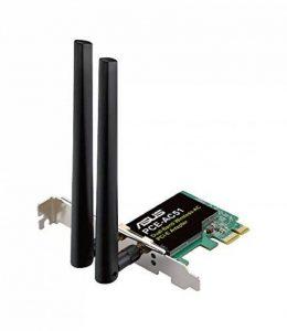 Asus Pce-ac51 Carte Réseau Pci Express Wi-fi Ac 750 Mbps Double Bande de la marque Asus image 0 produit