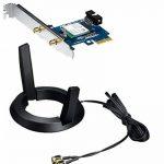 Asus Pce-ac55bt Carte Réseau Pci Express Wi-fi Ac 1200 Mbps Double Bande + Bluet ooth 4.0 de la marque Asus image 2 produit