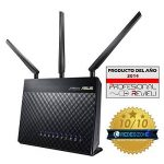 Asus Rt-ac68u Routeur Wi-fi Ac 1900 Mbps Double Bande avec Beamforming Airadar, Sécurité Aiprotection à Vie Trendmicro et Technologie Aimesh de la marque Asus image 1 produit