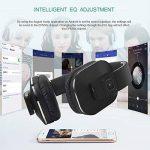 August EP650 - Casque Stéréo Sans-fil Bluetooth v4.2 aptX LL Low Latency NFC Circum Aural avec Multipoint Multipair - Écouteurs Audio Pliable avec Microphone Intégré et Batterie Interne Rechargeable - Compatible avec Téléphones portables, iPhone, iPad, PC image 2 produit