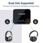Avantree Audikast Transmetteur Bluetooth 4.2, Support entrée Optique TOSLINK, RCA, aptX Low Latency vers 2 casques, Emetteur Adaptateur audio sans fil 3.5 mm pour TV, Indicateurs LED de la marque Avantree image 2 produit