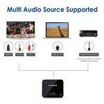 Avantree Audikast Transmetteur Bluetooth 4.2, Support entrée Optique TOSLINK, RCA, aptX Low Latency vers 2 casques, Emetteur Adaptateur audio sans fil 3.5 mm pour TV, Indicateurs LED de la marque Avantree image 4 produit