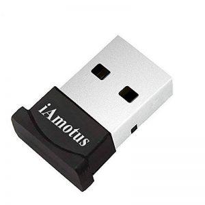 Bluetooth Adaptateur, [Garantie à Vie] iAmotus USB Bluetooth Adaptateur 4.0 + EDR Sans Fil Adaptateur Plug&Play USB Dongle Pour PC, Ordinateur Portable, Windows 10/8/7/XP Vista, Casques/Clavier/Souris/Imprimante de la marque iAmotus image 0 produit