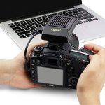 CamFi Pro Caméra DSLR sans fil Télécommande Capture transmise pour Canon Nikon Sony (Transmission haute vitesse, Vue en direct, Contrôle de plusieurs caméras, Support d'exposition, Empilement de mise au point, Temps écoulé) de la marque CamFi image 3 produit