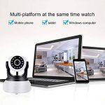 Caméra IP Sans fil, Sricam Wifi Caméra Surveillance Détection de Night Vision, 2 Voies Audio, Alerte de détection de Mouvement, Surveillance vidéo de la marque Sricam image 2 produit