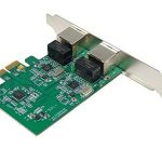 Carte réseau - Carte Controleur PCI Express (PCIE - PCIe) - 2 ports RJ45 Gigabit Ethernet 10/100/1000Mbps - Deux Chipset REALTEK RTL8111 - Equerres Low et High Profile - By Computer District de la marque Computer District image 4 produit