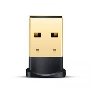CSL - USB Adaptateur Bluetooth V4.0 avec Del | Dongle | Class 4.0 Technologie | Standard Le Plus récent | Plug & Play | Compatible Windows 7, 8, 8.1 + 10 de la marque CSL-Computer image 0 produit