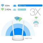 Cudy Routeur WiFi Intelligent AC1200 - Routeurs sans Fil bi-Bande 1200Mbps, Haute Vitesse, WiFi Longue portée pour Smart Home et appareils Alexa (WR1000) de la marque Cudy image 4 produit