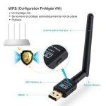 Dongle Wifi Adaptateur USB Wireless 4G Sans Fil 600Mbps - Deepow Wlan Stick USB Antenne Double Bande (2.4G/150Mbps+5G/433Mbps) 802.11n/g/b/a/ac avec WPS Secure Tech Pour Windows 10/8.1/8/7/XP/Vista MAC OS de la marque DEEPOW image 2 produit