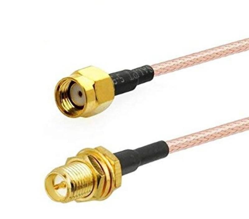 FPV antenne cble dextension vers SMA femelle broches en Centre, filetage /à lint/érieur 30/cm//30/cm SMA mle adaptateur dantenne connecteur RF Connecting Line vers faible p trou dans Centre, filetage /à lext/érieur