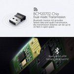 【Garantie à vie】Mpow USB Bluetooth 4.0 Clé Bluetooth Mini Adaptateur Dongle Sans Fil pour PC Windows 10/8/7/XP, Vista, Plug&Play ou Pilote IVT, Pour Équipement Bluetooth/Casque/Enceinte/Souris/Clavier de la marque Mpow image 2 produit