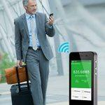 GlocalMe G3 Routeur Mobile 4G LTE Wi-Fi Hotspot Sans Fil, 1Go Débit Gratuit, LCD Écran Tactile, Batterie 5350mAh Fonction Powerbank, Dual Nano SIM Carte Débloqué, Portable Mi-Fi pour Voyage/Déplacement Gris de la marque Glocalme image 2 produit