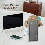 Glocalme U2 Routeur Mobile 4G LTE WiFi Hotspot, 1 Go Données Globales Initiales, Dual Cartes SIM ou Carte Virtuelle, MIFI Portable pour Déplacement/Voyage - Gris de la marque Glocalme image 2 produit