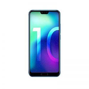 Honor 10 Smartphone débloqué 4G (5,84 Pouces - 64 Go - Nano SIM - Android) Phantom Blue [Import Europe] de la marque Honor image 0 produit