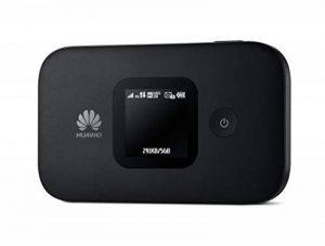 Huawei E5577 Noir 4G LTE 150 Mégabit/s Modem Hotspot WiFi USB, Batterie 1.500 mAh, 2 x TS9. de la marque Huawei image 0 produit