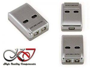 KALEA-INFORMATIQUE © - Boitier de partage USB 2.0 AUTOMATIQUE / Switch 2 ports - Compatible Imprimantes de la marque KALEA INFORMATIQUE image 0 produit