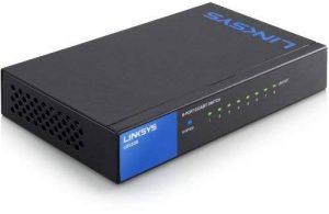 Linksys LGS108-EU Comutateur Gigabit non administrable à 8 ports pour professionnels de la marque Linksys image 0 produit