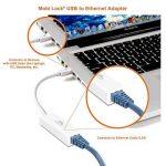 Mobi Lock, un Adaptateur Réseau Ethernet (LAN) pour Macbook Air, Macbook Pro, iMac, Laptop, PC et tous les Périphériques Compatibles USB 2.0 avec Windows 10 / 8.1 / 8 / 7 / Vista / XP et Mac OSX 10.6 / 10.7 / 10.8 / 10.9 / 10.10 de la marque Mobi Lock image 3 produit