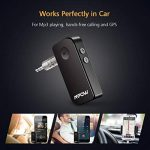 Mpow Récepteur Bluetooth 4.1 Kit Mains Libres Streambot Kit auto Voiture, A2DP Streambot Kit Voiture Mains Libres & Adaptateur sans fil pour Maison / Voiturer Audio System avec Sortie Stéréo 3.5 mm de la marque Mpow image 2 produit