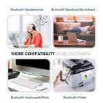 Mpow USB Bluetooth Mini Adaptateur Dongle Sans Fil Clé USB Bluetooth 4.0 pour PC Windows 10, 8,8.1, 7, XP, Vista, 32/64 Bits, Plug & Play ou Pilote IVT, Pour Equipements Bluetooth, Souris, Clavier, Casques, Enceintes, Imprimante de la marque Mpow image 3 produit