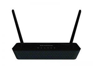 Netgear D1500-100PES Modem Routeur 300 Mbps Wi-Fi/Ethernet Noir de la marque Netgear image 0 produit