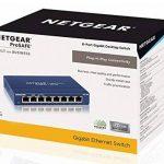 NETGEAR GS108GE Switch Métal 8 Ports Non Manageables ProSAFE de la marque Netgear image 3 produit