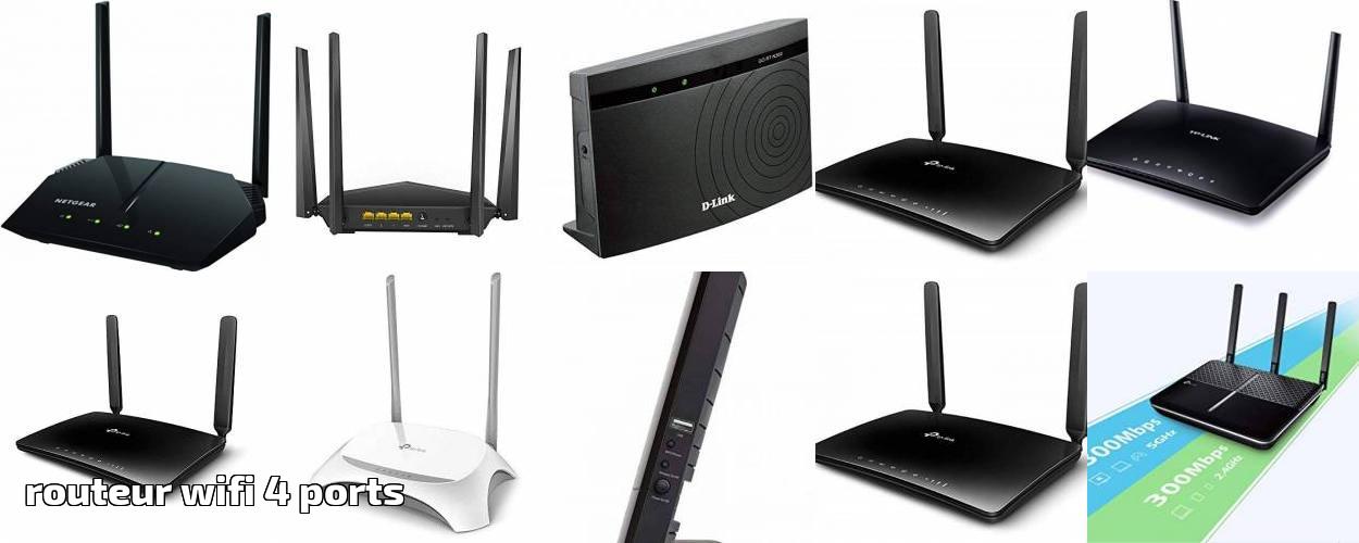Routeur wifi 4 ports les meilleurs modèles pour 2019 | J'ai