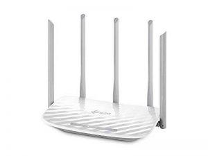 TP-Link Routeur 1350 Mbps Wi-Fi Bi-Bande: 450 Mbps en 2.4 GHz, 867 Mbps en 5 GHz, 5 ports Fast Ethernet (Archer C60) de la marque TP-Link image 0 produit