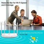 TP-Link Routeur 1350 Mbps Wi-Fi Bi-Bande: 450 Mbps en 2.4 GHz, 867 Mbps en 5 GHz, 5 ports Fast Ethernet (Archer C60) de la marque TP-Link image 3 produit