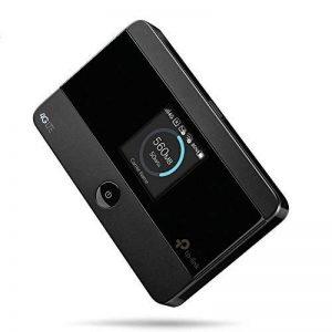 TP-Link Routeur Mobile 4G LTE-Advanced Bi-Bande: Débit 4G de 150 Mbps, Débit Wi-Fi de 300 Mbps en 2.4 GHz et 5 GHz, Batterie Rechargeable Longue Durée 2000 mAh, Antenne Interne, 1 Port Micro USB, 1 Emplacement Carte SIM (M7350 V4.0) de la marque TP-Link image 0 produit