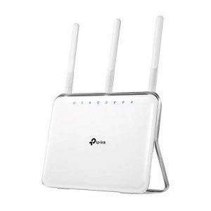 TP-Link Routeur Wi-Fi Gigabit Bi-Bande: 600 Mbps en 2.4 GHz, 1300 Mbps en 5 GHz, 5 ports Gigabit, 1 port USB 3.0 (Archer C9) de la marque TP-Link image 0 produit