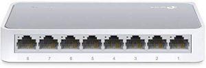 TP-Link TL-SF1008D Switch 8 Ports 10/100 Mbps (Bureau, Boîtier Plastique) de la marque TP-Link image 0 produit