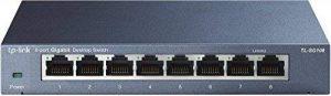 TP-Link TL-SG108 Switch 8 Ports Gigabit (Bureau, Boîtier Métal) de la marque TP-Link image 0 produit