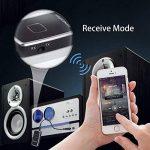 Transmetteur Bluetooth Récepteur et Émetteur, Mixcder TR007 2-en-1 Adaptateur Audio Stéréo Sans Fil avec 3,5 mm Câble Pour Haut-parleurs, Écouteurs, TV, PC, Ipod, MP3 / MP4, Auto Radio et Plus de la marque Mixcder image 1 produit