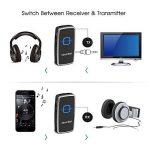 Transmetteur Bluetooth Récepteur et Émetteur, Mixcder TR007 2-en-1 Adaptateur Audio Stéréo Sans Fil avec 3,5 mm Câble Pour Haut-parleurs, Écouteurs, TV, PC, Ipod, MP3 / MP4, Auto Radio et Plus de la marque Mixcder image 3 produit