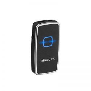 Transmetteur Bluetooth Récepteur et Émetteur, Mixcder TR007 2-en-1 Adaptateur Audio Stéréo Sans Fil avec 3,5 mm Câble Pour Haut-parleurs, Écouteurs, TV, PC, Ipod, MP3 / MP4, Auto Radio et Plus de la marque Mixcder image 0 produit