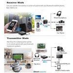 Transmetteur/récepteur Bluetooth, sans fil, adaptateur audio portable kit de diffusion de musique pour Home/stéréo de voiture TV, téléphone iPhone (A2DP, Dual Link, Re-pair, faible Latence) de la marque FDG image 2 produit