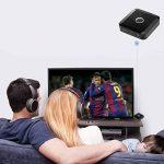 Transmetteur/récepteur Bluetooth, sans fil, adaptateur audio portable kit de diffusion de musique pour Home/stéréo de voiture TV, téléphone iPhone (A2DP, Dual Link, Re-pair, faible Latence) de la marque FDG image 1 produit