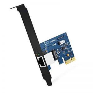 UGREEN Carte Réseau PCI Express Gigabit Ethernet à 1000 Mbps RJ45 LAN Adaptateur pour PC Supporte Windows 10/8/8.1/98SE/ME/2000/XP/Vista de la marque UGREEN image 0 produit
