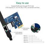 UGREEN Carte Réseau PCI Express Gigabit Ethernet à 1000 Mbps RJ45 LAN Adaptateur pour PC Supporte Windows 10/8/8.1/98SE/ME/2000/XP/Vista de la marque UGREEN image 2 produit