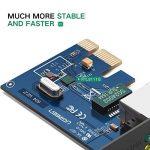 UGREEN Carte Réseau PCI Express Gigabit Ethernet à 1000 Mbps RJ45 LAN Adaptateur pour PC Supporte Windows 10/8/8.1/98SE/ME/2000/XP/Vista de la marque UGREEN image 4 produit