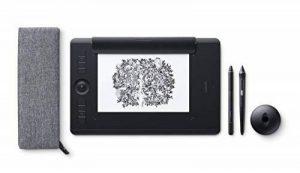Wacom Intuos Pro Medium Paper Edition - Tablette graphique à stylet professionnelle - Compatible avec Mac, Windows et de nombreux logiciels de créations - X pouces - Noir de la marque Wacom image 0 produit