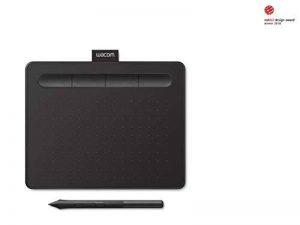Wacom Nouvelle Intuos S - Tablette graphique à stylet, compatible avec Mac et Windows - Idéale pour le dessin débutant - 7 pouces - Noir de la marque Wacom image 0 produit