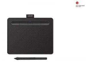 Wacom Nouvelle Intuos S - Tablette graphique à stylet, compatible en Bluetooth avec Mac et Windows - Idéale pour le dessin débutant - 7 pouces - Noir de la marque Wacom image 0 produit