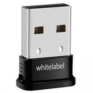 Whitelabel Émetteur et Récepteur Bluetooth 4.0 USB Adaptateur avec Vitesse de Transmission de 3 Mo/s Idéal Pour Système D'exploitation Windows 10 / 8.1 / 8 / 7 / Vista - Compatible avec un Casque Stéréo Bluetooth et D'autres Périphériques Bluetooth de la image 0 produit