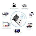 Whitelabel Émetteur et Récepteur Bluetooth 4.0 USB Adaptateur avec Vitesse de Transmission de 3 Mo/s Idéal Pour Système D'exploitation Windows 10 / 8.1 / 8 / 7 / Vista - Compatible avec un Casque Stéréo Bluetooth et D'autres Périphériques Bluetooth de la image 3 produit